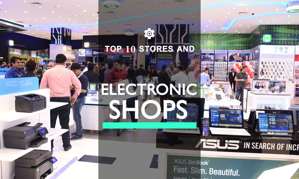 Electronic Shops in Dubai