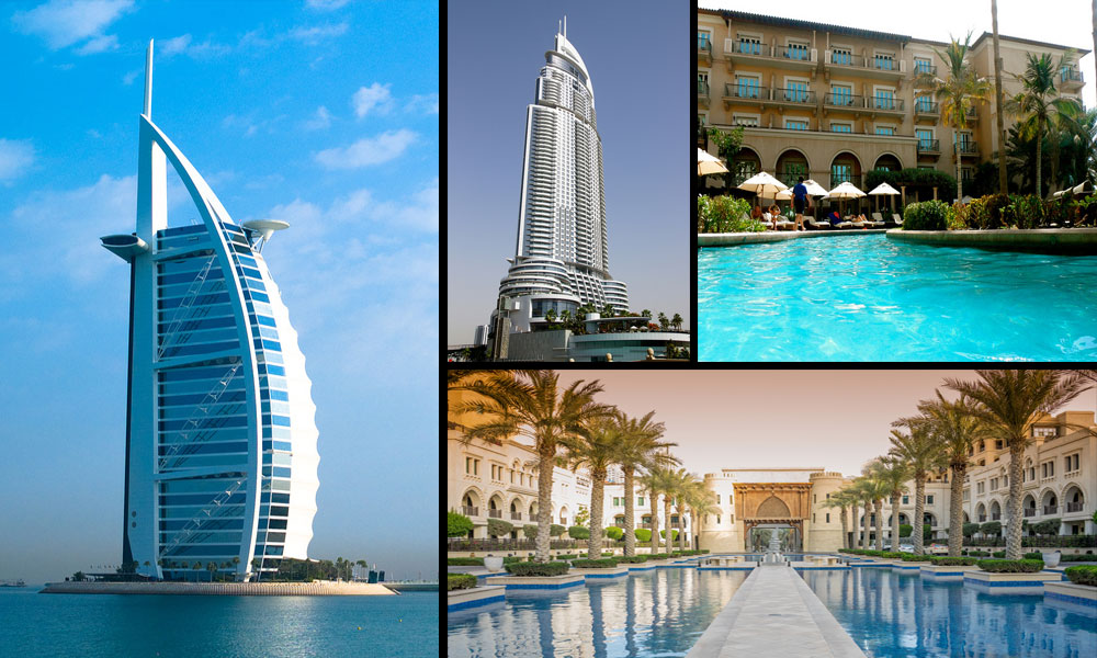 Top 10 most expensive luxury hotels in dubai for Top resorts in dubai