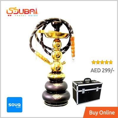 Black Golden Classic Shisha Dubai