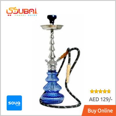 Large Blue Shisha / Hookah Dubai