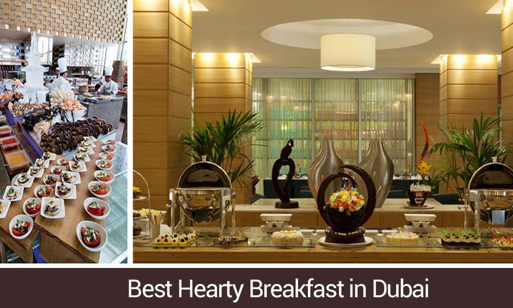 breakfast buffet Dubai