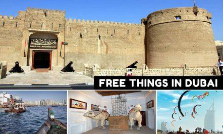 Free things to do in Dubai