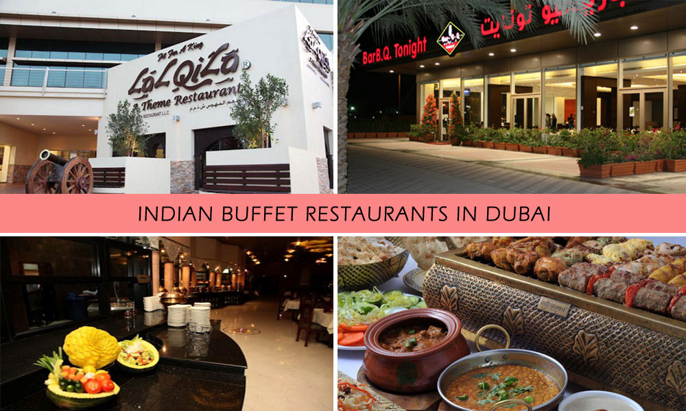 indian buffet restaurants in Dubai