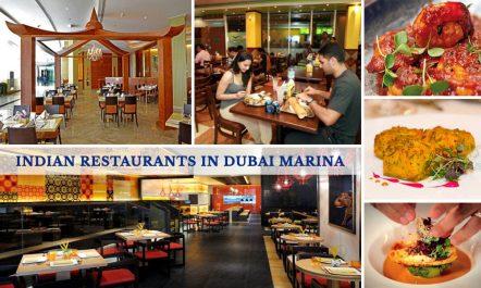 Indian Restaurants in Dubai Marina