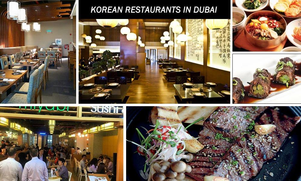 korean restaurants Dubai