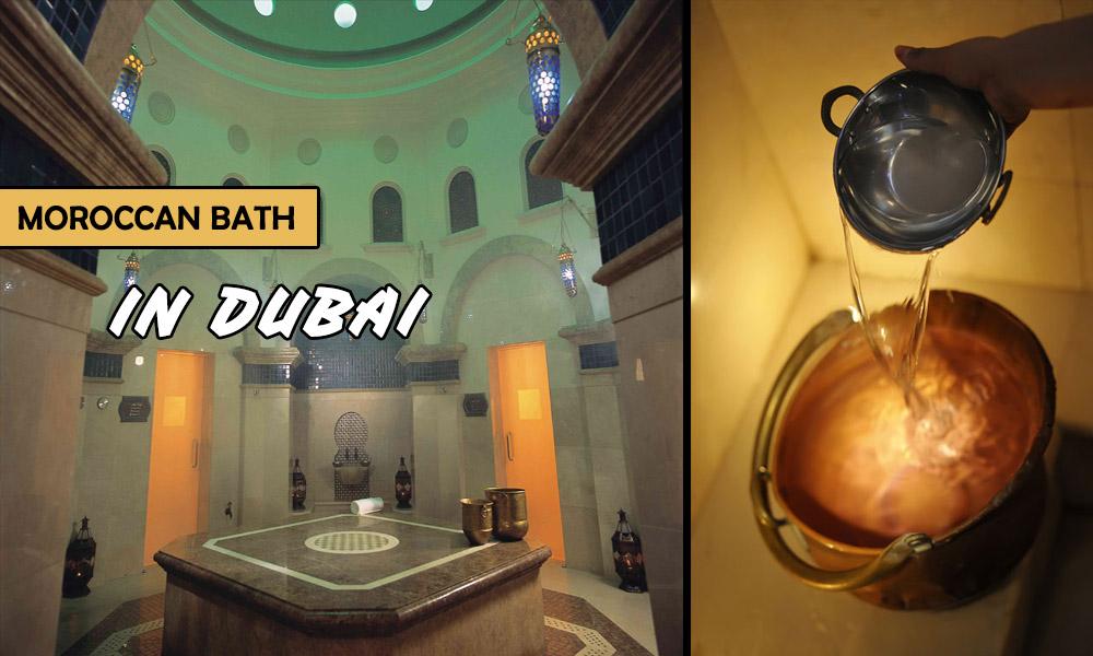 Moroccan Bath in Dubai for Men