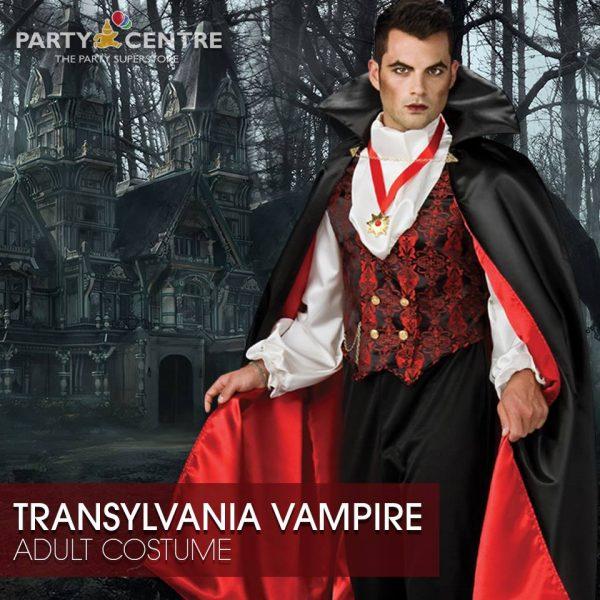 Transylvania Vampire Costume Dubai