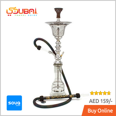 White Transparent Shisha Dubai Buy Online