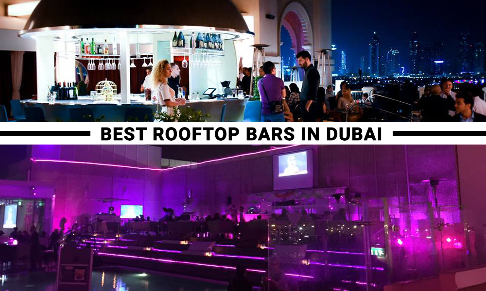 Rooftop bar dubai top 5 outdoor rooftop bars in dubai for Best value hotels in dubai