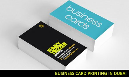 business card printing dubai