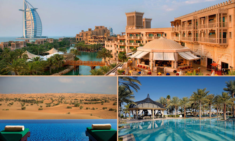 Top 7 romantic hotels in dubai for a memorable honeymoon for Biggest hotel in dubai