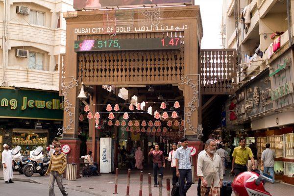 Gold Souq Dubai, City of Gold in Arabia